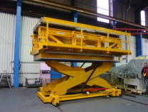Marmaray - Bogie Drop Table - Factory Acceptance Test - Copy